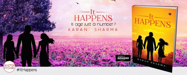 Blog Tour by The Book Club of IT HAPPENS by Karan Sharma